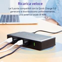 Tronsmart U5TF Titan Plus 90W 5 Ports USB Desktop Charger