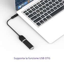 Tronsmart CTMF Adattatore Type-C Maschio a Micro USB Femmina 2.0