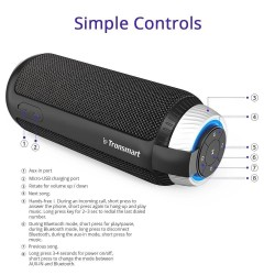 Tronsmart Element T6 25W Altoparlante Bluetooth Portatile