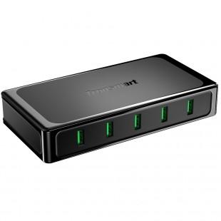 Tronsmart U5TF Titan Caricatore USB da tavolo da 90W Quick Charge a 5 porte