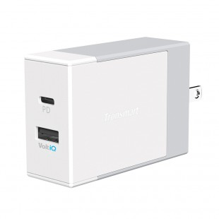 Tronsmart W2DC 42W USB PD Wall Charger with VoltiQ